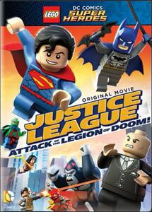 Lego. DC Comics Super Heroes. Justice League: Legion of Doom all'attacco! - DVD