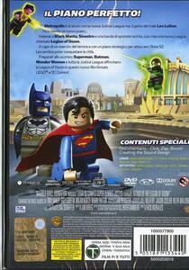 Lego. DC Comics Super Heroes. Justice League: Legion of Doom all'attacco! - DVD - 2