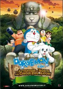 Doraemon. Il film. Le avventure di Nobita e dei cinque esploratori di Takashi Yamazaki,Ryûichi Yagi - DVD