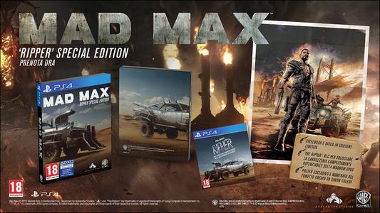 Videogioco Mad Max Preorder Edition PlayStation4 1