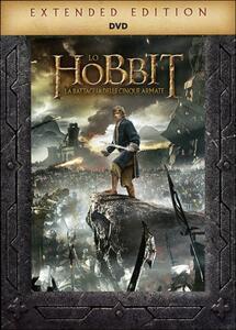 Lo Hobbit. La battaglia delle cinque armate (5 DVD) di Peter Jackson - DVD