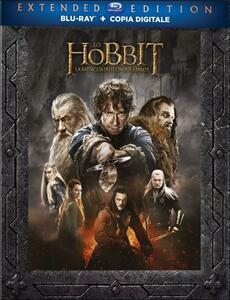Lo Hobbit. La battaglia delle cinque armate (3 Blu-ray) di Peter Jackson - Blu-ray
