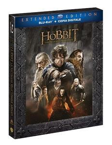 Lo Hobbit. La battaglia delle cinque armate (3 Blu-ray) di Peter Jackson - Blu-ray - 2