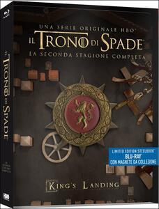 Il trono di spade. Game of Thrones. Stagione 2. Con Steelbook. Serie TV ita (5 Blu-ray)<span>.</span> Limited Edition - Blu-ray