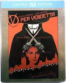 V per Vendetta. Con Steelbook (Blu-Ray) di James Mcteigue - Blu-ray