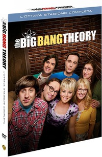 Cover Dvd Big Bang Theory. Stagione 8 (DVD)