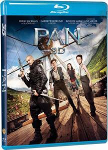 Pan. Viaggio sull'isola che non c'è 3D (Blu-ray + Blu-ray 3D) di Joe Wright