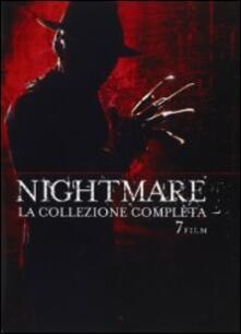 Nightmare. La collezione completa (7 DVD) di Wes Craven,Renny Harlin,Stephen Hopkins,Chuck Russell,Jack Sholder,Rachel Talalay