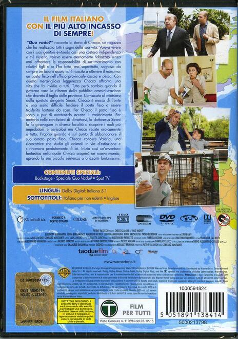 Quo vado? di Gennaro Nunziante - DVD - 2