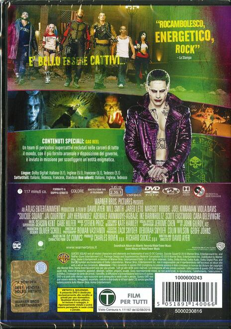 Suicide Squad (DVD) di David Ayer - DVD - 6