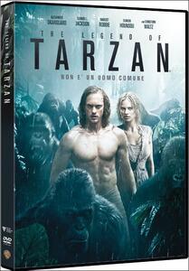 The Legend of Tarzan di David Yates - DVD