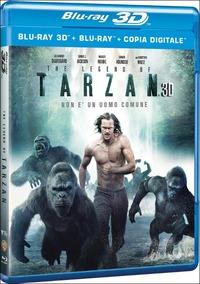 Cover Dvd The Legend of Tarzan 3D (Blu-ray)