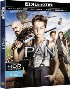 Pan. Viaggio sull'isola che non c'è (Blu-ray + Blu-ray 4K Ultra HD) di Joe Wright
