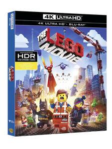 Lego Movie (Blu-ray + Blu-ray 4K Ultra HD) di Phil Lord,Chris McKay,Christopher Miller