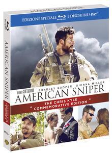 American Sniper (Commemorative Edition)<span>.</span> Commemorative Edition di Clint Eastwood - Blu-ray - 2
