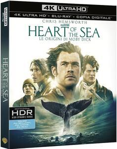 Heart of the Sea. Le origini di Moby Dick (Blu-ray + Blu-ray 4K Ultra HD) di Ron Howard