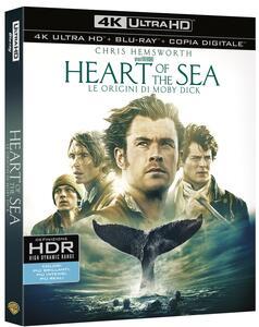 Heart of the Sea. Le origini di Moby Dick (Blu-ray + Blu-ray 4K Ultra HD) di Ron Howard - 2