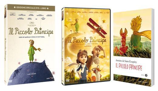 Il Piccolo Principe (Edizione speciale DVD + libro)<span>.</span> Edizione speciale di Mark Osborne - DVD - 3