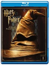 Cover Dvd Harry Potter e la pietra filosofale (Edizione Speciale) (Blu-ray)