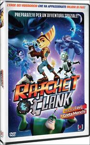 Ratchet & Clank. Il film di Kevin Munroe,Jericca Cleland - DVD