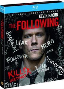 Film The Following. Stagione 3 (3 Blu-ray) Marcos Siega Joshua Butler Liz Friedlander