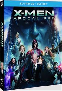X-Men. Apocalisse (Blu-ray + Blu-ray 3D) di Bryan Singer - Blu-ray + Blu-ray 3D