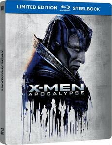 X-Men. Apocalisse (Steelbook)<span>.</span> Limited Edition di Bryan Singer - Blu-ray