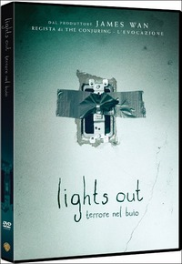 Cover Dvd Lights Out. Terrore nel buio