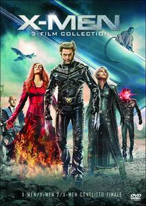 X-Men Trilogy (3 DVD) di Brett Ratner,Bryan Singer