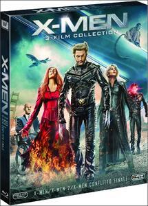 X-Men Trilogy (3 Blu-ray) di Brett Ratner,Bryan Singer