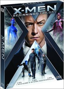 X-Men Trilogy 2 (3 Blu-ray) di Bryan Singer,Matthew Vaughn