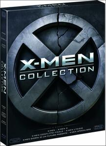 X-Men Complete Collection (6 Blu-ray) di Brett Ratner,Bryan Singer,Matthew Vaughn