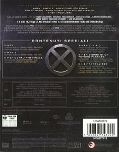 X-Men Complete Collection (6 Blu-ray) di Brett Ratner,Bryan Singer,Matthew Vaughn - 2