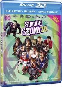 Suicide Squad (Blu-ray + Blu-ray 3D) di David Ayer - Blu-ray + Blu-ray 3D