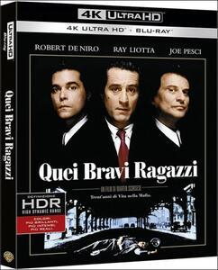 Quei bravi ragazzi (Blu-ray + Blu-ray 4K Ultra HD) di Martin Scorsese