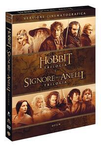 Film Lo Hobbit + Il Signore degli Anelli. Le trilogie (6 DVD) Peter Jackson