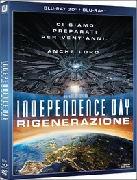 Cover Dvd Independence Day. Rigenerazione 3D (Blu-ray)