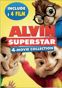 Alvin Superstar 1 - 4 (4 DVD) di Walt Becker,Tim Hill,Mike Mitchell,Betty Thomas