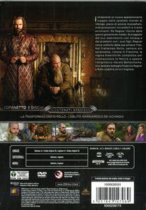 Vikings. Stagione 4. Vol. 1. Serie TV ita (3 DVD) - DVD - 2