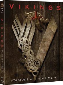 Film Vikings. Stagione 4. Vol. 1. Serie TV ita (3 Blu-ray) Ken Girotti Ciaran Donnelly Johan Renck