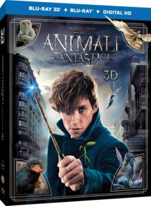 Animali fantastici e dove trovarli (Blu-ray + Blu-ray 3D) di David Yates - Blu-ray + Blu-ray 3D