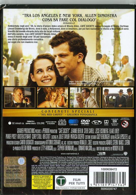 Café Society di Woody Allen - DVD - 10