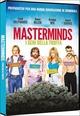 Cover Dvd Masterminds - I geni della truffa
