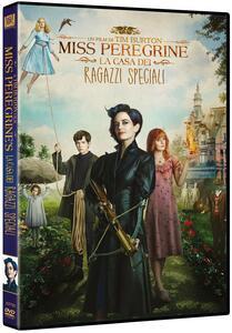 Miss Peregrine. La casa dei ragazzi speciali (DVD) di Tim Burton - DVD
