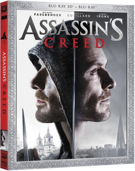 Assassin's Creed (Blu-ray + Blu-ray 3D) di Justin Kurzel - Blu-ray + Blu-ray 3D