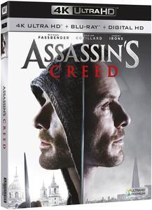 Assassin's Creed (Blu-ray + Blu-ray 4K Ultra HD) di Justin Kurzel - Blu-ray + Blu-ray Ultra HD 4K