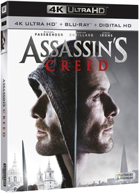 Cover Dvd Assassin's Creed Blu-ray Ultra HD 4K (DVD)