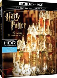 Film Harry Potter e il principe mezzosangue (Blu-ray + Blu-ray 4K Ultra HD) David Yates