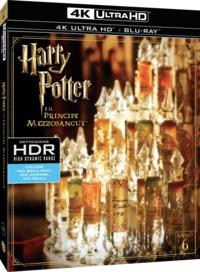 Cover Dvd Harry Potter e il principe mezzosangue (Blu-ray Ultra HD 4K) (Blu-ray)