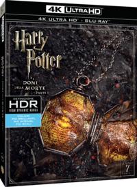 Cover Dvd Harry Potter e i doni della morte. Parte 1 (Blu-ray Ultra HD 4K) (Blu-ray)
